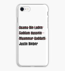 Funny Hit List iPhone Case/Skin