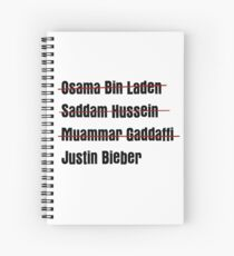 Funny Hit List Spiral Notebook