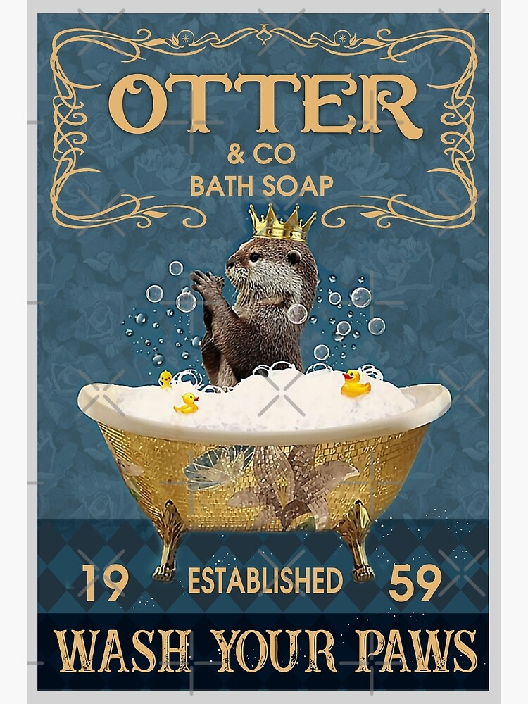 Otter And Co Bath Soap Wash Your Paws by moonchildworld