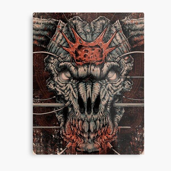 DOOM Icon Of Sin Metal Print
