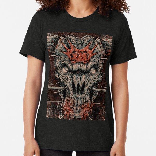 DOOM Icon Of Sin Tri-blend T-Shirt