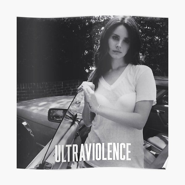 Lana Ultraviolence Poster
