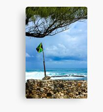 Welcome to: Jamaica Canvas Print