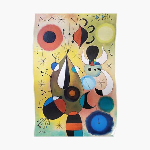 Joan Miró Malerei Poster