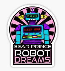 """Robot Dreams"" by William Slone Sticker"