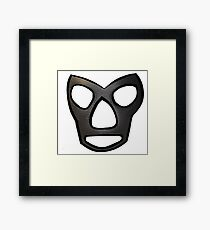 Mr Wrestling II Framed Print