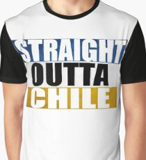 Straight Outta Chile Graphic T-Shirt