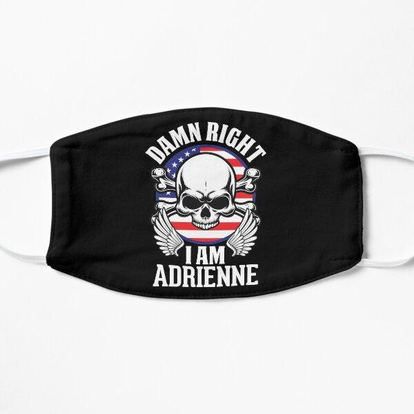 Skull Lover Damn Right I Am Adrienne Flat Mask