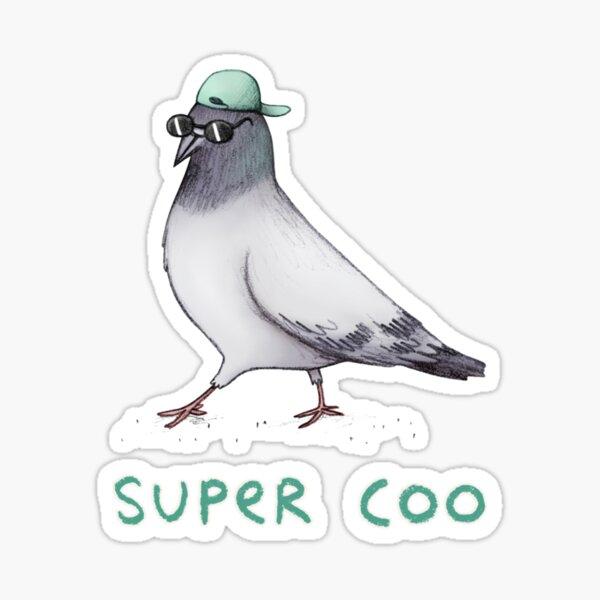 Super Coo Sticker
