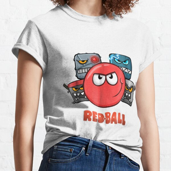 Red Ball 4 - La tripulación Camiseta clásica