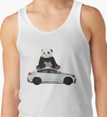 White X6 Look Like A Panda Tank Top