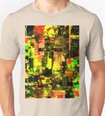 Bright Autumn Colours Collage Unisex T-Shirt