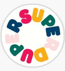 Superduper Sticker