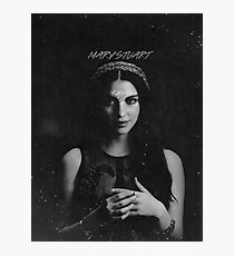 REIGN - Mary Photographic Print