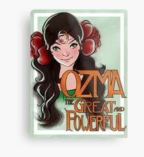 Ozma The Great And Powerful Metal Print