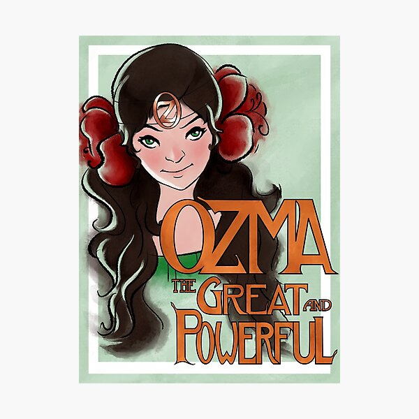 Ozma The Great And Powerful Photographic Print