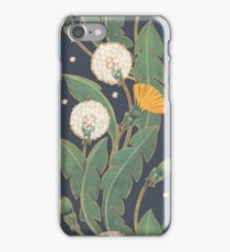 dandelion seamless pattern iPhone Case/Skin