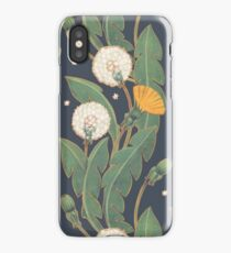 dandelion seamless pattern iPhone Case