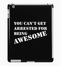 arrested iPad Case/Skin