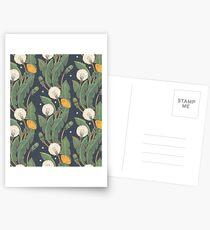 dandelion seamless pattern Postcards