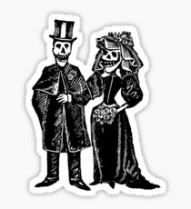 Skeleton Wedding Sticker