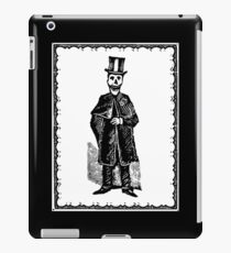 Skeleton Groom (Border) iPad Case/Skin