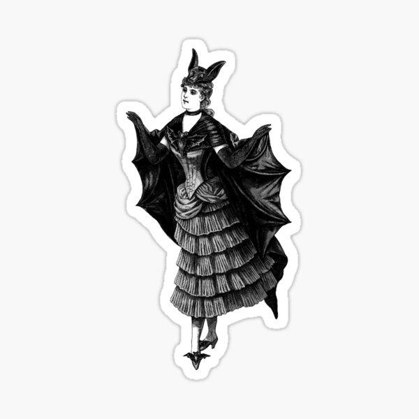 Victorian Bat Sticker
