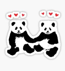 Panda Love Sticker