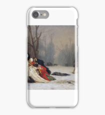 Jean-Léon Gérôme - Duel after the Masquerade Ball iPhone Case/Skin
