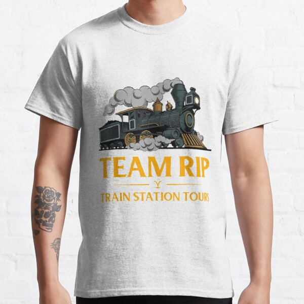 Team-Rip Train Station Tours Yellowstone T-Shirt Classic T-Shirt