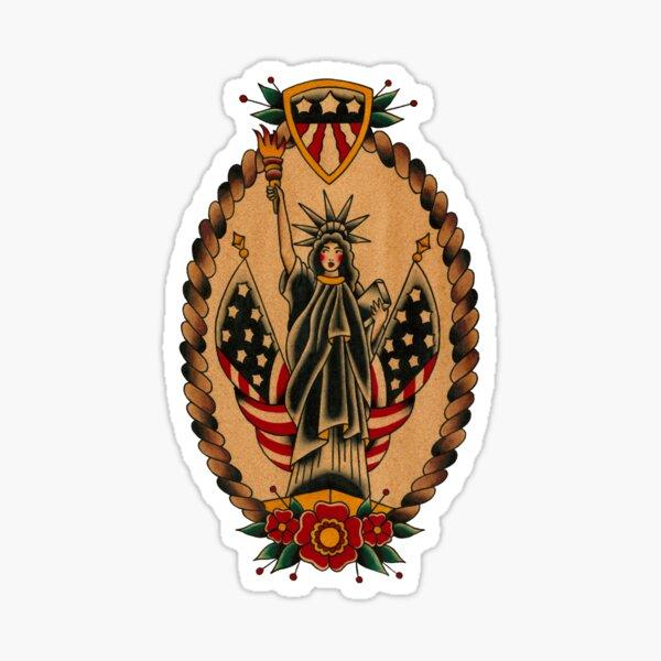 Lady Liberty Sticker