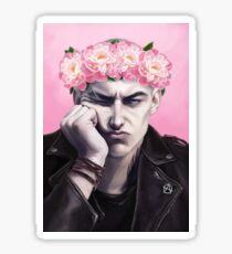 Flower crown Ronan Sticker