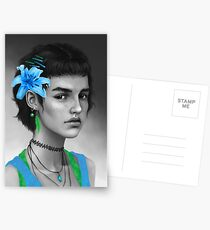 Blue Postcards
