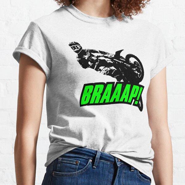 BRAAAP Supercross Whip (Green) Classic T-Shirt