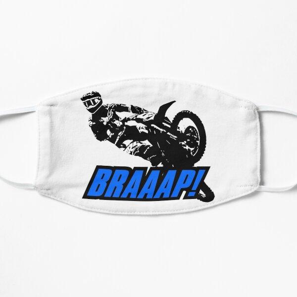 BRAAAP Supercross Whip (Blue) Flat Mask