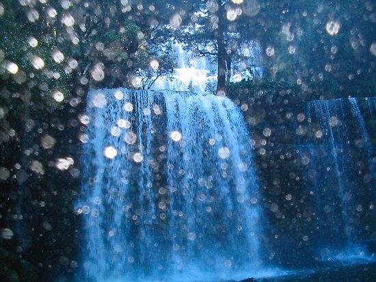 Russell Falls, Tasmania by John Douglas