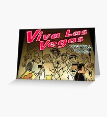Las vegas greeting cards redbubble lets get married in viva las vegas greeting card m4hsunfo