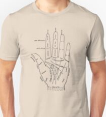 Chart of the Hand - fortune-telling T-Shirt
