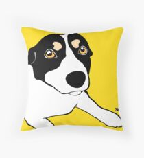 Mini Foxie Throw Pillow