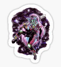 Moon Warrior Sticker