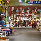 Colorful Korean Marketplace by Bo Insogna