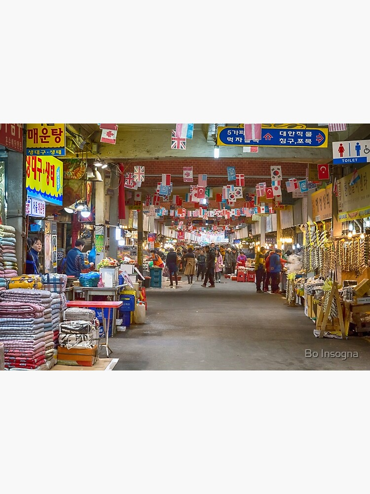 Colorful Korean Marketplace by mrbo
