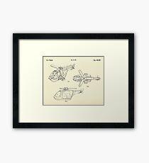 Lego Helicopter-1994 Framed Print