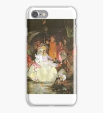 John Anster Fitzgerald - The Fairy's Barque iPhone Case/Skin