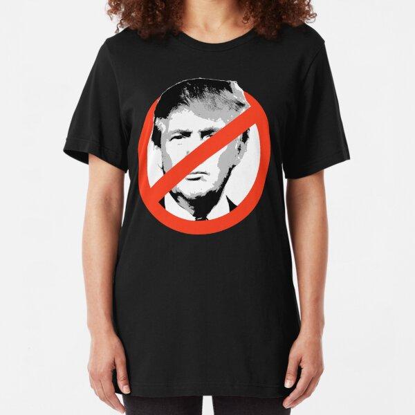 Anti-Trump Slim Fit T-Shirt
