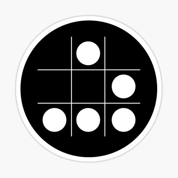 Hacker emblem Sticker