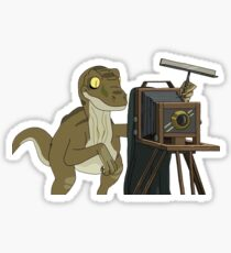 Photography Raptor Sticker