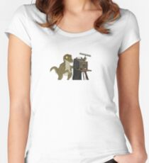 Photography Raptor Women's Fitted Scoop T-Shirt