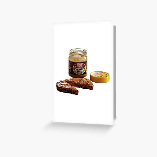 Marmite Greeting Card