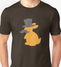 Top hat bunny rabbit with a mustache T-Shirt